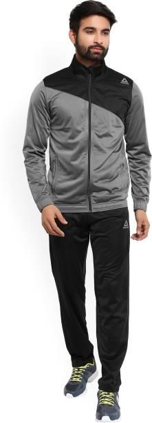 a6d41e55770d REEBOK Solid Men s Track Suit