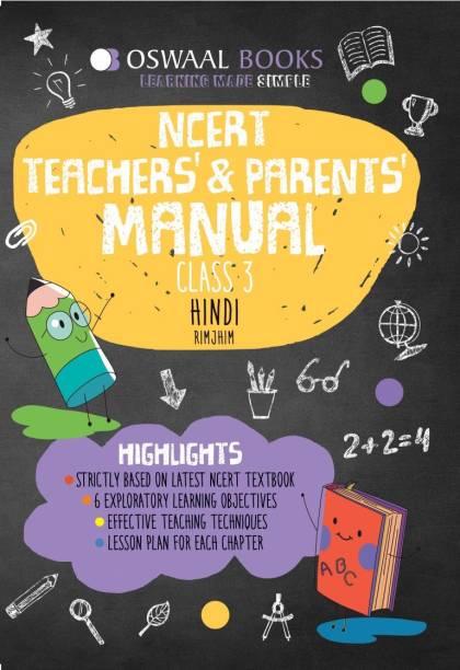 Oswaal NCERT Teachers & Parents Manual Class 3 Hindi Rimjhim