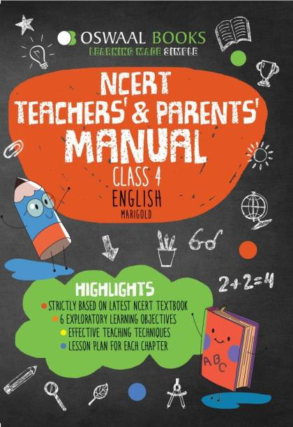 Oswaal NCERT Teachers & Parents Manual Class 4 English Marigold
