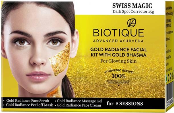 BIOTIQUE Gold Radiance Facial Kit
