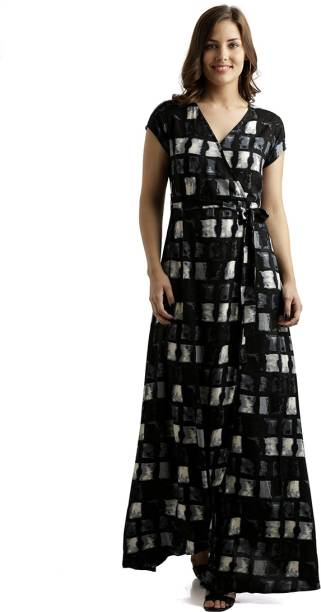5c30b03ab1 Miss Chase Women s Maxi Multicolor Dress
