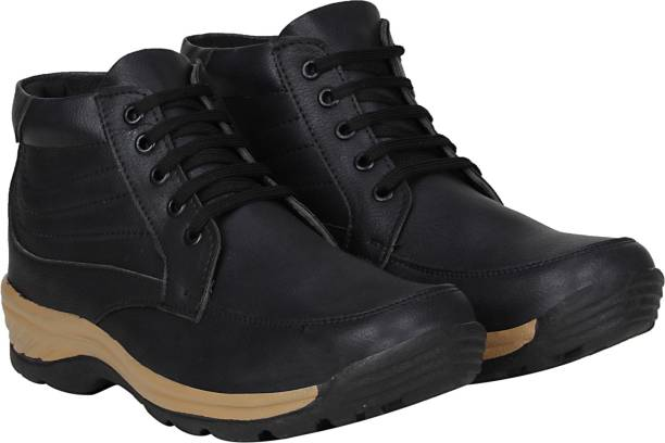 b987e1a6752c Bachini Rocking Men s Street Rider Boots (Black) Boots For Men