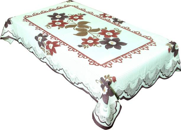 14135f04f1b Kuber Industries Self Design 4 Seater Table Cover