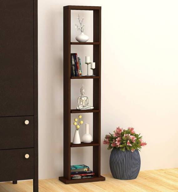 BLUEWUD Walten Engineered Wood Open Book Shelf