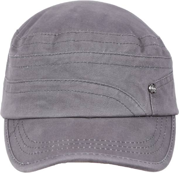 FabSeasons Cotton Short peak unisex cap for summers With adjustable strap  at the back Cap 5b7ab8cf657