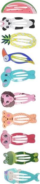 Evolution Medium Tic Tac Pins Mixed Animal Shaped Multi Kids Fun Maching Pack of 10 Tic Tac Clip