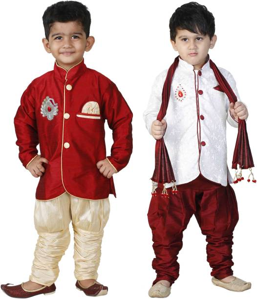 Baby dresses baby clothes online newborn clothes at best prices smartbazar boys festive party kurta pyjama dupatta set solutioingenieria Gallery