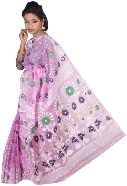 82f138b042 Dhakai Jamdani Sarees - Buy Dhakai Jamdani Sarees online at Best ...