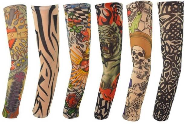 BestFit Nylon Arm Sleeve For Boys & Girls With Tattoo