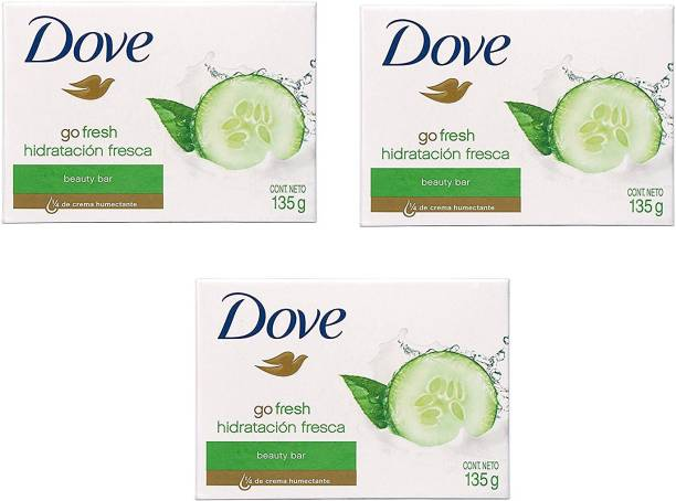 DOVE Go Fresh Hidratacion Fresca Beauty Bar