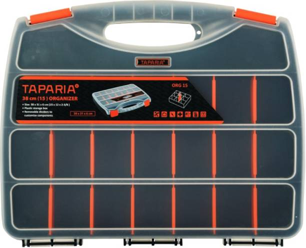 TAPARIA ORG 15 Tool Box with Tray