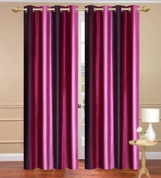 Homebird 152.4 inch (5 ft) Polyester Window Curtain Single Curtain