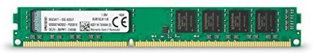 KINGSTON RAM DDR3 8 GB PC ValueRAM (1.35V 240-Pin 1600 (PC3 12800) Desktop Memory - KVR16LN11/8)