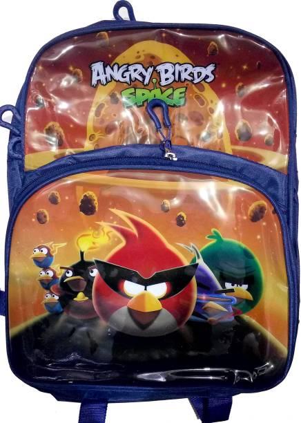 DREAMS ANGRY BIRD SCHOOL BAG FOR 4 TO 6 YEAR CUTE KIDS Waterproof School Bag