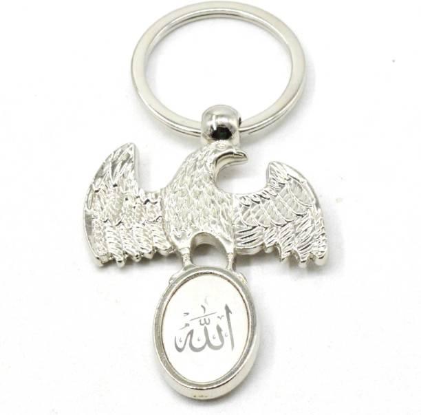 Faynci New Fancy Muslim Islamic Eagle ALLAH Key Chain Gifting for Ramadan, Eid Key Chain