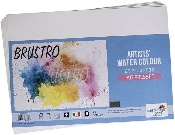 BRuSTRO Super Series Unruled A3 300 gsm Watercolor Paper