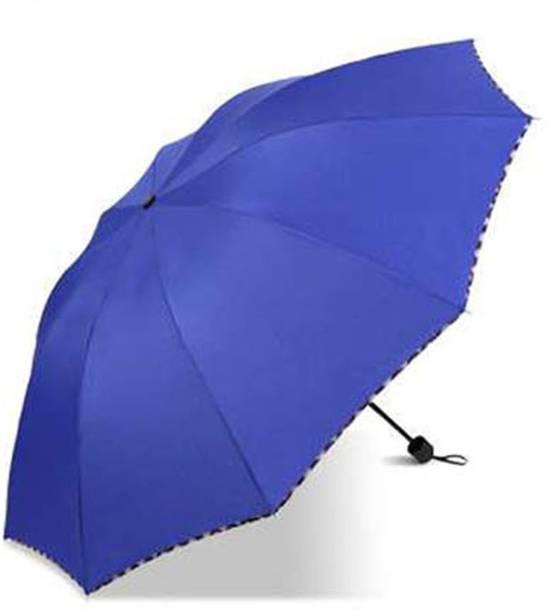 KEKEMI 3 Fold Plain2 Umbrella