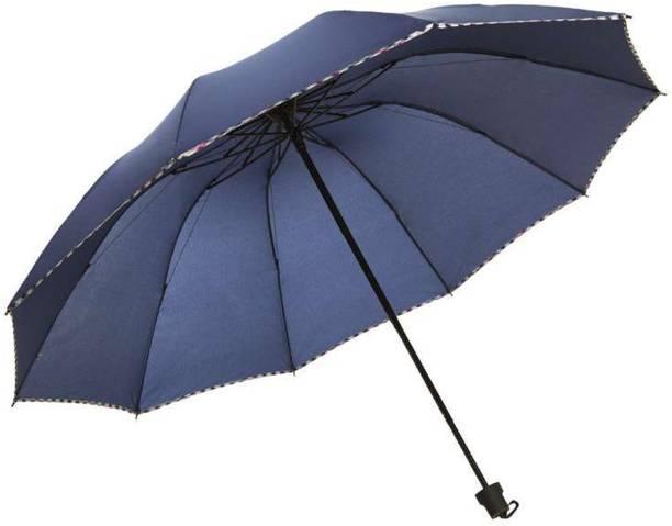 KEKEMI 3 Fold Plain1 Umbrella