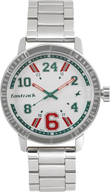 Fastrack 3178SM02 Varsity Analog Watch  - For Men
