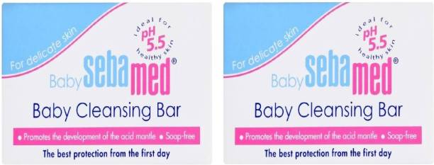 Sebamed Baby Cleansing Bar [ Pack Of 2 ] #Imported