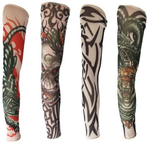 Nevy Nylon Arm Sleeve For Men & Women With Tattoo