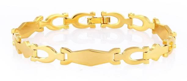 0d83d7f1ceeb6 Gold Bracelets For Men - Buy Gold Bracelets For Men online at Best ...