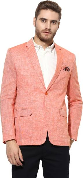7f564e24d7 Orange Blazers - Buy Orange Blazers Online at Best Prices In India ...
