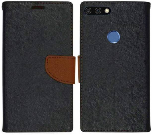 Spicesun Flip Cover for Honor 7A