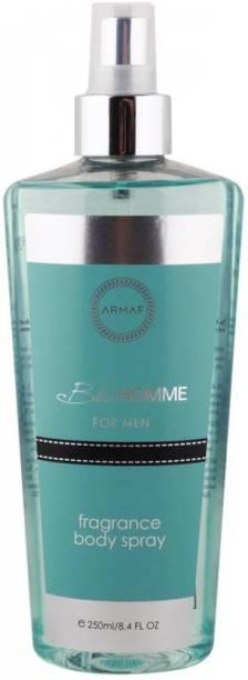 ARMAF Blue Homme Fragrance Body Spray For Men 250ml Body Mist  -  For Men
