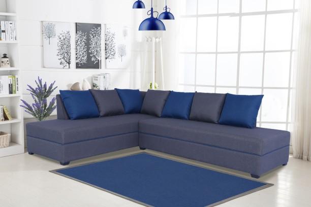 Muebles Casa Crown Fabric 5 Seater Sofa