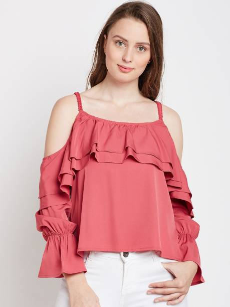 9cd55b000b2 Ruffles Tops - Buy Ruffles Tops Online at Best Prices In India ...