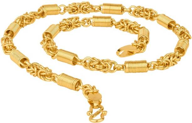 f2df6462ef94e Voylla Gold-Plated Hand Made Link Chain Gold-plated Plated Brass Chain