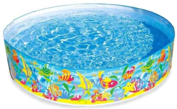 indmart Fun Swimming Pool - 6 Feet requires no air Portable Pool