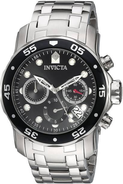 d28a56708 Invicta black22131 Invicta Men's 'Pro Diver' Quartz Stainless Steel Watch,  Color:Silver