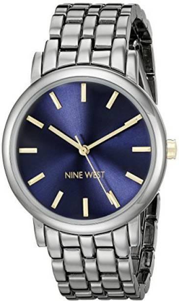 Nine West Blue19329 Nine West Women s NW 1805BLGN Gunmetal Bracelet Watch  Watch - For Women 2eb79e3e4b