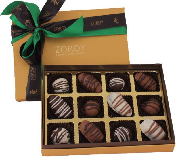 Zoroy Luxury Chocolate Ramadan assorted dates Fudges