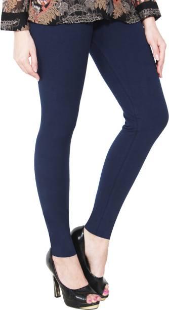 88dbb639803b Dark Blue Leggings - Buy Dark Blue Leggings Online at Best Prices In ...
