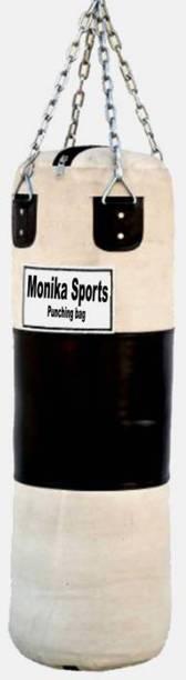 Monika Sports 3 feet canvas punching bag Hanging Bag