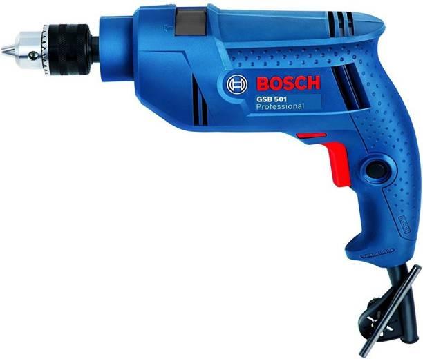 BOSCH Impact Drill Machine GSB 501 Pistol Grip Drill