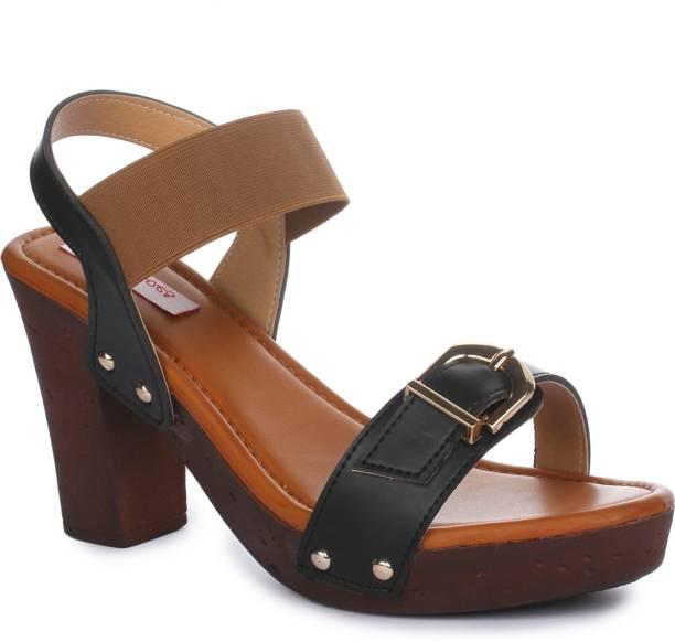 324d4edeadd Block Heels - Buy Block Heels Sandals Online At Best Prices in India ...