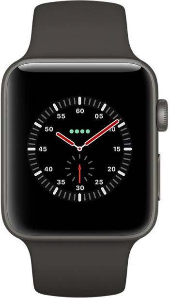 APPLE Watch Edition Series 3 GPS + Cellular- 38 mm Gray Ceramic Case with Sport Band