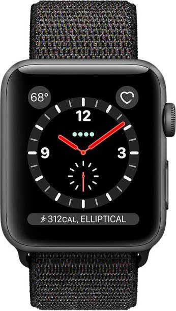 APPLE Watch Series 3 GPS + Cellular - 38 mm Space Grey Aluminium Case with Sport Loop