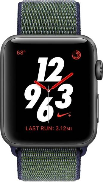 APPLE Watch Nike+ GPS + Cellular - 38 mm Space Grey Aluminium Case with Nike Sport Loop