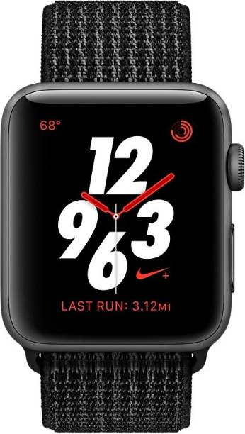 APPLE Watch Nike+ GPS + Cellular - 38 mm Space Gray Aluminium Case with Nike Sport Loop