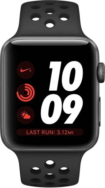 APPLE Watch Nike+ GPS + Cellular - 38 mm Space Gray Aluminium Case with Nike Sport Band