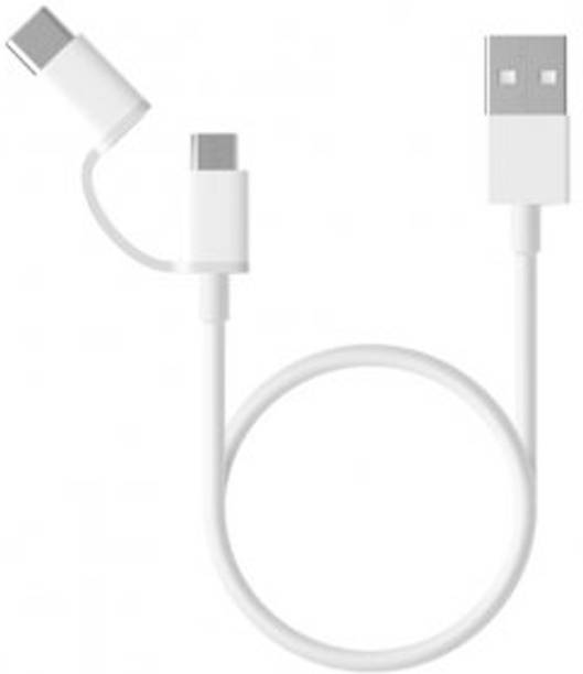 Mi SJX02ZM 2 in 1 USB Type C Cable