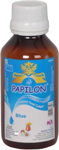 PAPILON CONCENTRATED FOOD COLOUR PREPARATION BLUE - 100ML Blue