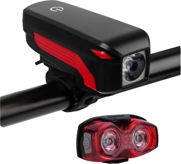 Bicycle Smart Sensor USB Rechargeable LED Bike Cycling Front Head Light La IFB