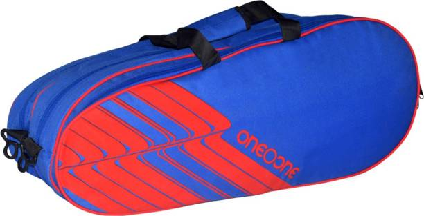 One O One Lines Collection Triple Blue & Red - Racket Bag (badminton / tennis)