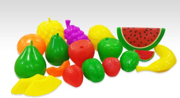 Itoys 18 piece Fruit Set for Role Play